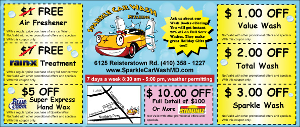 Mike's car wash discount coupons